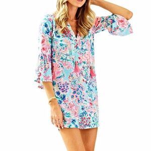 Lilly Pulitzer Del Lagos tunic dress size S